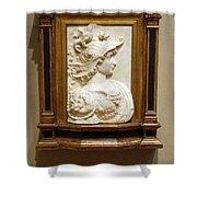 Alexander The Great By Andrea Del Verrocchio Shower Curtain