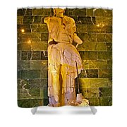 Alexander The Great In Antalya Archeological Museum-turkey Shower Curtain