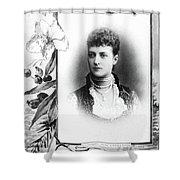 Alexandra Of Denmark (1844-1925) Shower Curtain