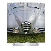 Alfa Romeo 1900 Ss Zagato Berlinetta 1956 Shower Curtain