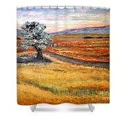 Algadonez Nm Shower Curtain