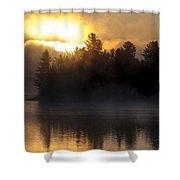 Algonquin Sunrise Shower Curtain