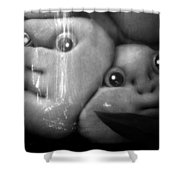 All Bottled Up Shower Curtain by David Lee Thompson