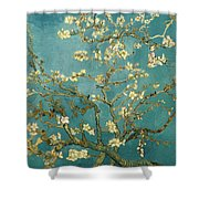 Almond Blossoms Shower Curtain
