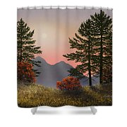 Alpine View Shower Curtain