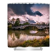 Alyesford Bridge Shower Curtain