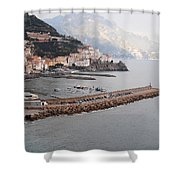 Amalfi Italy Shower Curtain