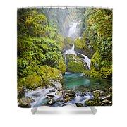 Amazing Waterfall Shower Curtain