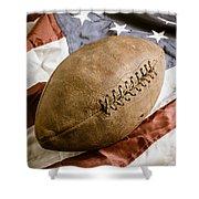 American Football Shower Curtain