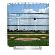 America's Game Shower Curtain