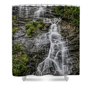 Amicola Falls Shower Curtain