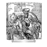 Amman: Dentist, 1568 Shower Curtain