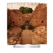Anasazi Ruins  Shower Curtain