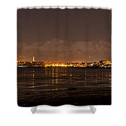 Anchorage At Night Shower Curtain