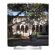Ancient Spanish Monastery Shower Curtain