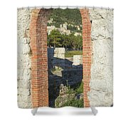 Ancient Town Of Gubbio  Shower Curtain