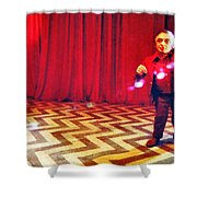 And Theres Always Music In The Air Shower Curtain by Luis Ludzska