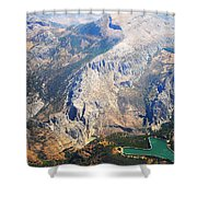 Andalusian Heights. Spain Shower Curtain