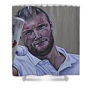 Andrew Flintoff Shower Curtain