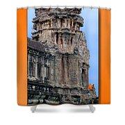 Angkor Wat Cambodia 2 Shower Curtain