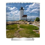 Annisquam Lighthouse Shower Curtain