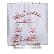 Antique Safety Razor Patent 1912 Shower Curtain