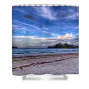 Ao Manao Bay Shower Curtain