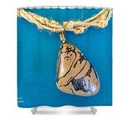 Aphrodite Mechanitis Necklace Shower Curtain