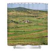Apollonia, Or Apoloni, Fier Region Shower Curtain