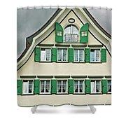 Appenzell Switzerland's Famous Windows Shower Curtain
