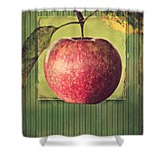 Apple Shower Curtain