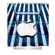 Apple In The Big Apple Shower Curtain