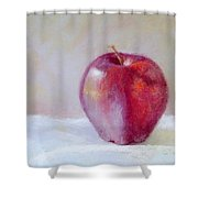 Apple Shower Curtain by Nancy Stutes
