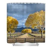 Arizona Horse Ranch Shower Curtain