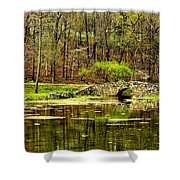 Arkansas Tranquility Shower Curtain by Benjamin Yeager