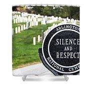 Arlington National Cemetery Part 1 Shower Curtain
