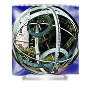 Armillary Sphere Shower Curtain