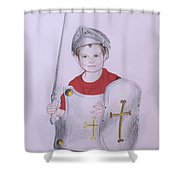 Armor Of God Shower Curtain
