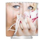 Aromatherapy Shower Curtain