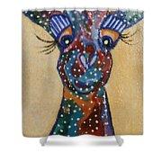 Girafe Art Shower Curtain