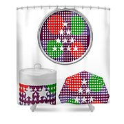 Art On Gifts Pod Products Ornaments Tea Cup Award Reward Grant Appreciation Acknowledgement Meeting  Shower Curtain