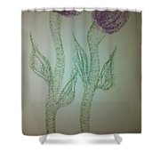 Art Therapy 53 Shower Curtain