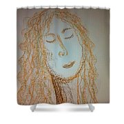 Art Therapy 99 Shower Curtain