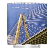 Arthur Ravenel Jr. Bridge 2 Shower Curtain