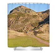 Arthur's Seat  Edinburgh  Scotland Shower Curtain