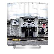 Asbury Park's Stone Pony Shower Curtain