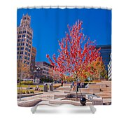 Asheville North Carolina Shower Curtain