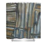 Asylum Shower Curtain