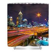 Atlanta - Georgia - Usa Shower Curtain