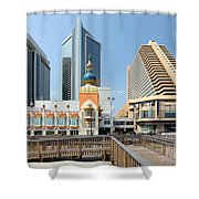 Atlantic City Shower Curtain